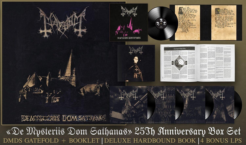 Mayhem De Mysteriis Dom Sathanas 25th Anniversary 5 Lp Box Set Invictus Productions